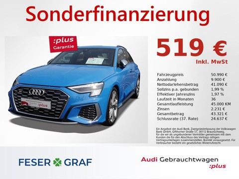 Audi S3 2.0 TFSI Sportback