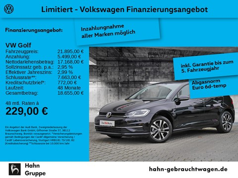 Volkswagen Golf 1.5 TSI Comfortline VII IQ DRIVE Parklenk