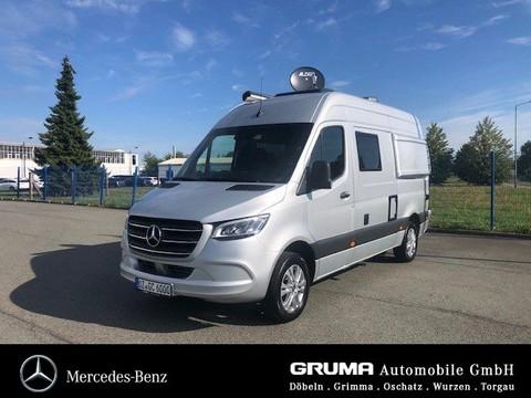 Mercedes-Benz Sprinter Wohnmobil Heckgarage Hochbett