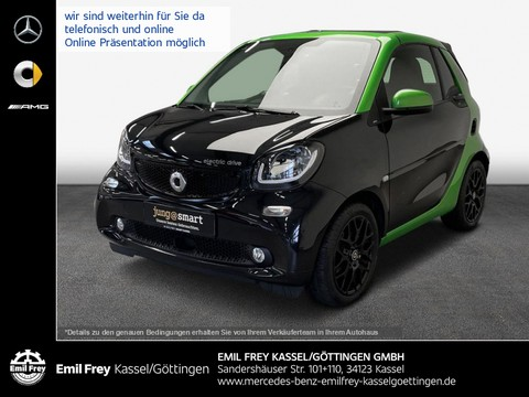 smart ForTwo EQ electric drive prime Sleek Design
