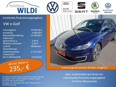 Volkswagen Golf e-Golf VII