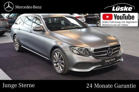 Mercedes-Benz E 400 d T AVANTGARDE Mattlack designo Carbon