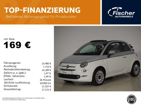 Fiat 500C 1.0 GSE Hybrid Dolcevita