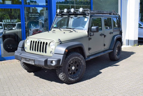 Jeep Wrangler 2.8 Unlimited Rubicon