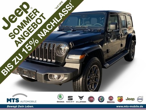 Jeep Wrangler UNLIMITED 80th Anniversary MY21