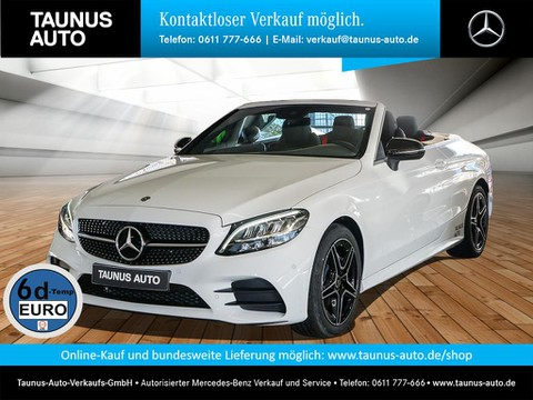 Mercedes-Benz C 180 7.4 Cabrio-AMG-NIGHT-KOMFORT UVP 500