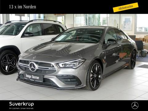 Mercedes-Benz CLA 35 AMG Designo Perf Sitze Fahrassist