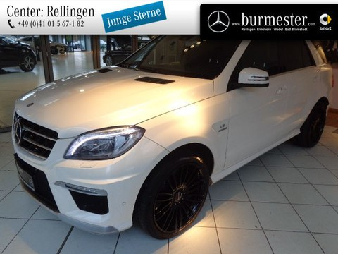 Mercedes-Benz ML 63 AMG Off-Roader Sitzklima Drivers P