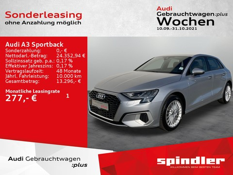 Audi A3 Sportback 30 TFSI advanced