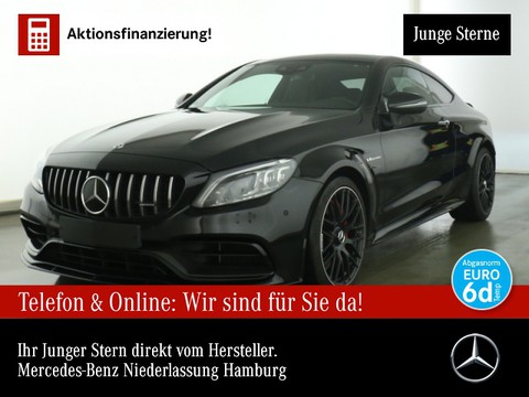 Mercedes-Benz C 63 AMG S Cp Carbon Aero-Pak Perf-Sitze Abgas