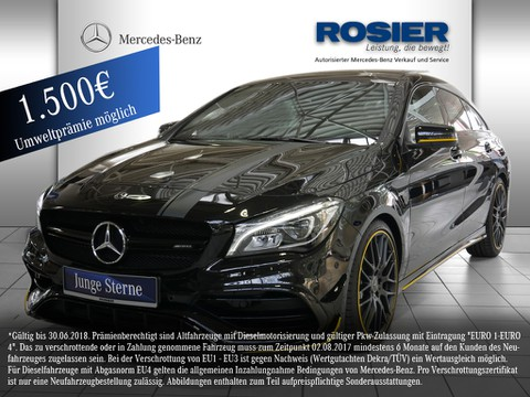Mercedes CLA 45 AMG SB Yellow Night Edition Com