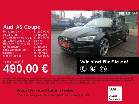 Audi A5 2.0 TFSI Coupe sport S-Line