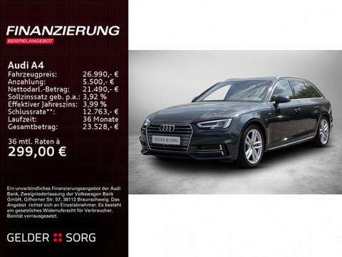 Audi A4 2.0 TDI Avant sport 3x S-Line Virtuell