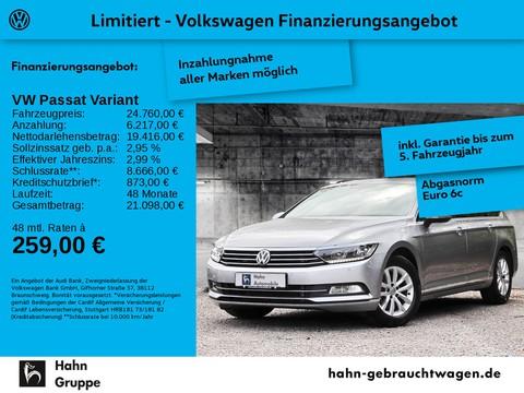 Volkswagen Passat Variant 2.0 TDI Comfortline Einpark