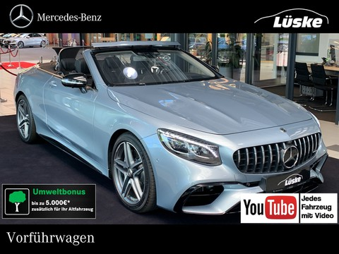 Mercedes-Benz S 63 AMG Cabrio Drivers Package Night Paket