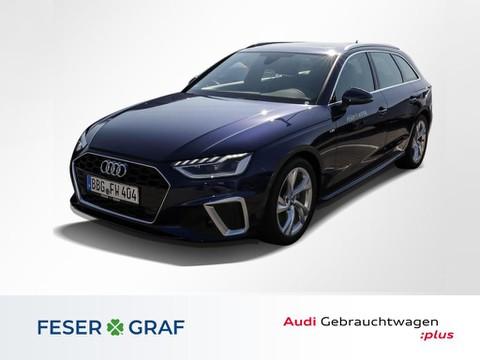 Audi A4 Avant 35TDI S line
