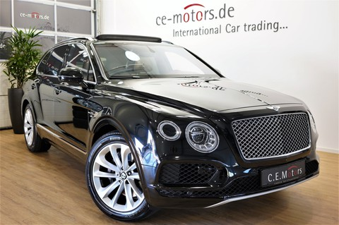 Bentley Bentayga W12 All Terrain beige rot Privacy