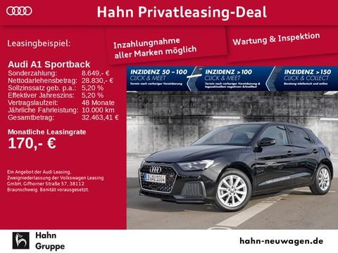 Audi A1 Sportback - plus touch - und Heckleuchten dynamischem Blinklicht Heck - vorn - Audi LB 1004