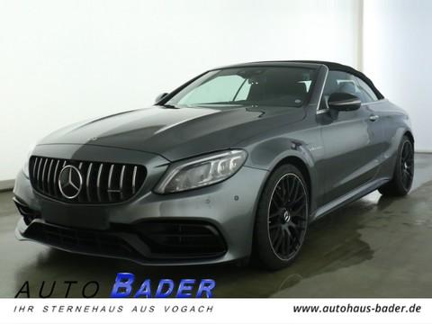 Mercedes-Benz C 63 AMG Cabrio Night 4xHighEnd Perf-Sitze AGA