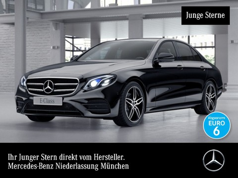 Mercedes-Benz E 220 d AMG Burmester Sitzklima Night