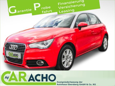 Audi A1 1.4 TFSI Sportback Attraction Sicht
