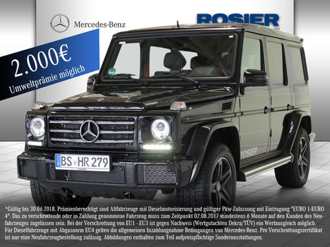 Mercedes G 350 d designo Manufaktur Ed
