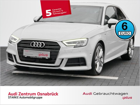Audi A3 1.6 TDI S-line Sportpaket B O
