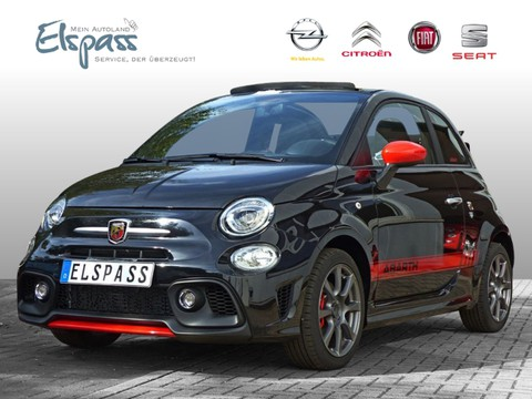 Abarth 595C CABRIO RED PAKET EL