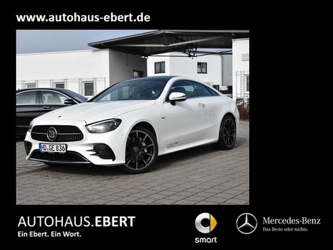 Mercedes-Benz E 400 d Coupé AMG Line PSD Burmester BRABUS