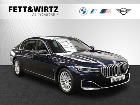 BMW 745 Le xDrive TV Laser Mass