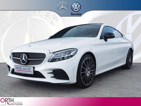 Mercedes-Benz C 200 Coupé AMG Line EQ NIGHT APP