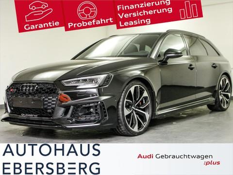 Audi RS4 Avant Tour Stadt Parken Dynamik