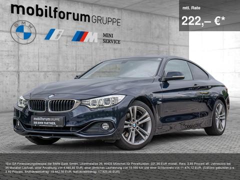 BMW 428 i Coupé Sport Line
