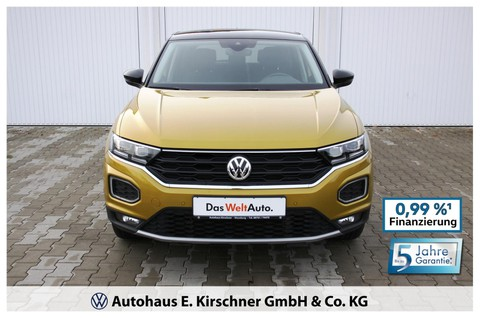 Volkswagen T-Roc Style Display Fah
