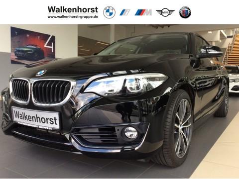 BMW 218 i Sport Line Coupe Automatik 17-Zoll