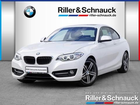 BMW 220 iA Coupe Sport Line HGSD