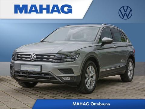 """Volkswagen Tiguan 1.4 TSI """"Highline"""" Light Front Lane el Lederkomfortsitze beh 7x18 Reifen 235 55 18 (Airstop)"""