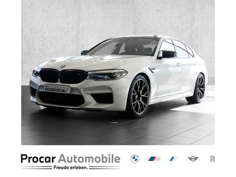 BMW M5 Limousine Competition M Drivers Package M Track Pack M Carbon Bremsen Sonderlackierung