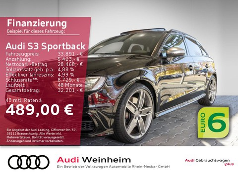 Audi S3 2.0 TFSI Sportback S-Line