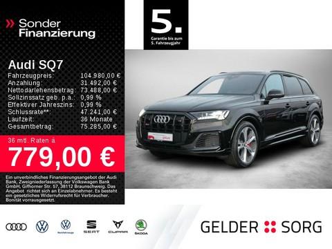 Audi SQ7 4.0 TDI qu HEAD STAND