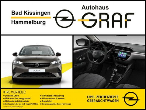 Opel Corsa Turbo EditionComfort Licht DachSchwarz