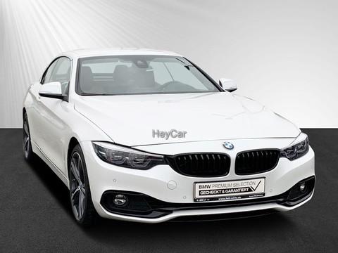 BMW 430 i xDrive Cabrio Sport Line Innovationsp