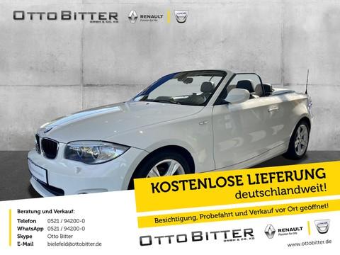 BMW 118 2.0 d Cabrio PARKP