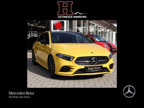 Mercedes-Benz A 220 AMG HUP Night Burmester FA