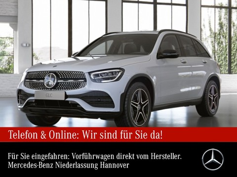 Mercedes-Benz GLC 220 d AMG Night Spurhalt