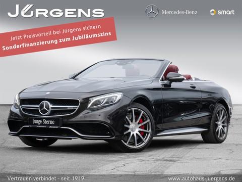 Mercedes-Benz S 63 AMG Cabriolet Exklusiv Burm Massage