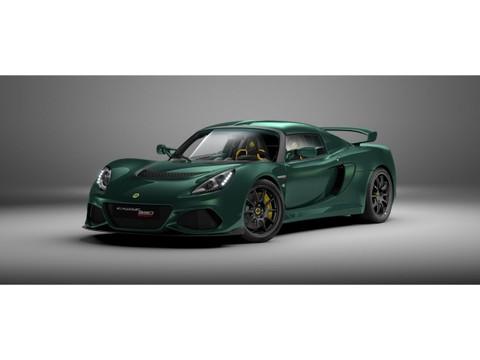 Lotus Exige Sport 390 RACING GREEN by LOTUS HAESE