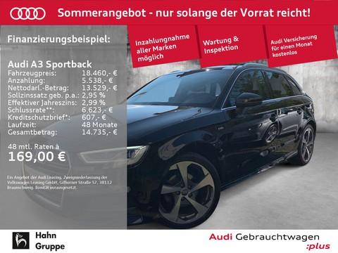 Audi A3 1.0 TFSI Sportback S-line Einpark