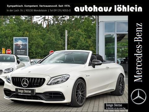 Mercedes-Benz C 63 AMG S Cabrio DIG-DISP ALL BLACK 36