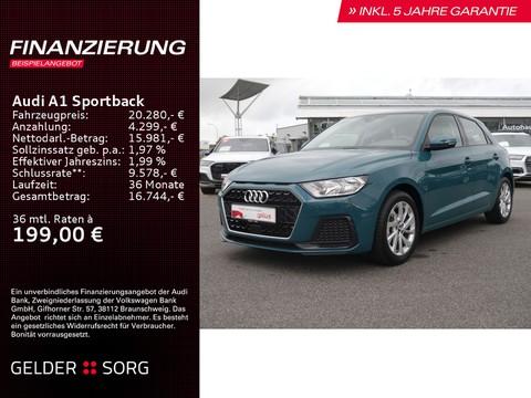 Audi A1 Sportback 25 TFSI   Connect EPH 